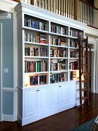 Sliding Bookshelf Ladder Hey There Wanna See My Bookshelves Kristina Wright