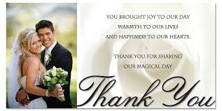 wedding thank you cards top 10 ideas wedding thank you cards with photo best shower