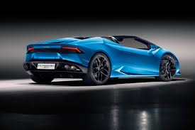 used lamborghini huracan lamborghini huracan drops its top for new spyder version