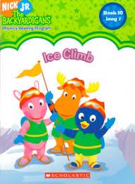 ice climb nick jr backyardigans sonia sander paperback