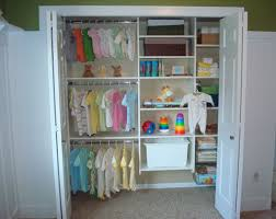 Hanging Closet Organizer Interior Simple Baby Closet Organizer With White Two Doors And