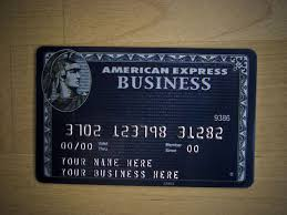 Business Card Credit American Black Express Business Centurion Card Exclusive Credit
