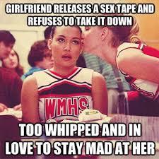 Sex Tape Meme - glee brittany santana sex tape meme glee pinterest glee and