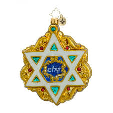 yourchristmasstore christopher radko shield of david ornament