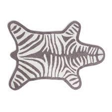 Zebra Bath Rug Buy Jonathan Adler Zebra Bath Mat Black Amara