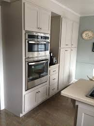 martha stewart sharkey gray cabinets through home depot kitchen