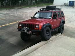 jeep xj lifted 98 cherokee limited 4 5