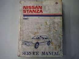 1987 nissan stanza service repair workshop shop manual factory oem