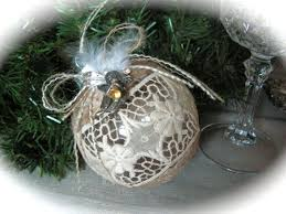 87 best burlap lace ornaments images on