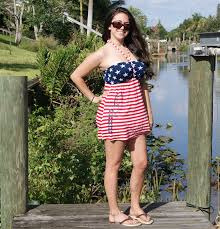 Model American Flag American Flag Tank Top Country Shore