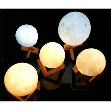 Moon Light Fixture Uk 3d Magical Led Luna Night Light Moon Lamp Desk Usb Charging