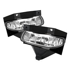 1999 mustang accessories ford mustang 1999 2004 clear fog lights no switch ford