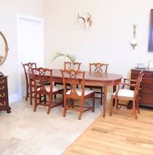 mahogany dining room set craftique mahogany dining room set with table and six chairs ebay