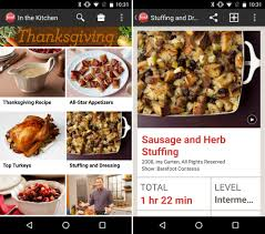 pull an amazing thanksgiving feast with these 12 android apps