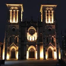 san fernando cathedral light show photo1 jpg picture of the light show at the san fernando cathedral