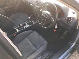 audi a3 tdi sport diesel 6 speed manual 2005 5dr blue 1 owner