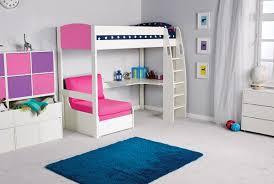 Pink Sleeper Sofa by High Sleeper With Sofa And Desk Tourdecarroll Com