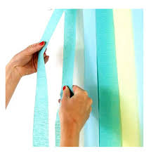 crepe paper streamers 10 rolls 100m crepe paper streamers diy paper bouquet curling for