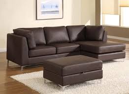 Modern Brown Leather Sofa Best Modern Sectional Sofa