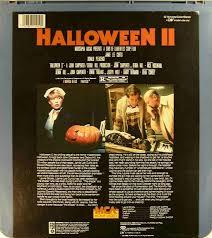 halloween ii 47897110191 c side 2 ced title blu ray dvd