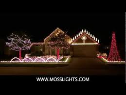 christmas light show house music complete 2011 christmas light show lor light o rama mosslights com