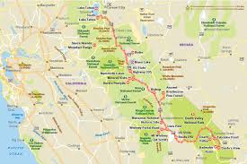 map of highway 395 oregon highs and lows of the 395 road tripping california s highway