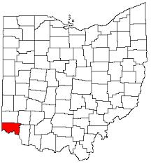 map of counties in ohio hamilton county ohgenweb
