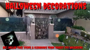 halloween outside decorations 2017 youtube