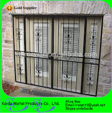 ornamental wrought iron grill design for balcony window view iron
