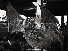 metal dragon lamp by kreatworks on deviantart