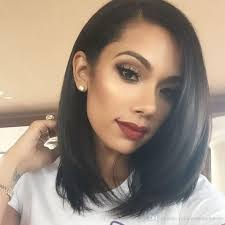 cheap 2017 short hair style short bob human hair wigs for black