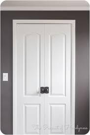 Closet Door Handle Gorgeous Closet Door Knobs On Door Knob Install In Slab Doors