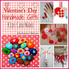 valentine u0027s day handmade gifts kids can make montessori nature