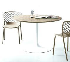 table cuisine ronde blanche 160 kopervik p 3715html table ronde laquee sans rallonge kopervik 0