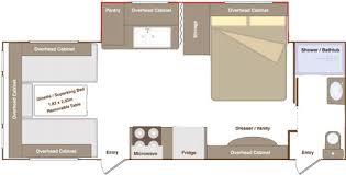 Caravan Floor Plans Slide Out Caravans By Eterniti Ec2 26 Ib4 And Ec2 26 Bb6