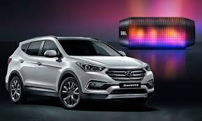 hyundai santa fe facelift 2016 hyundai santa fe facelift revealed in south autoevolution