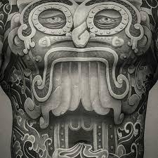 aztec tattoo god on instagram skin deep pinterest tattoo