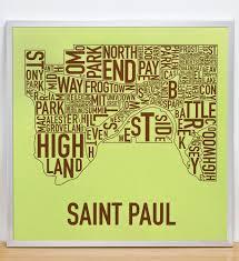 West Seattle Neighborhood Map by Saint Paul Neighborhood Map 20