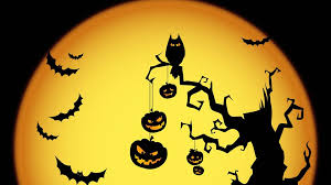 halloween colored background wallpaper halloween wallpapers