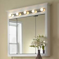 recessed medicine cabinet with lights spacious shop bathroom storage at lowes com of medicine cabinets