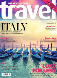 travel magazine images Amazing response to our italy cover the sunday times travel