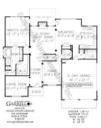 windshire house plan house plans by garrell associates inc