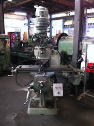 herbert type 28a vertical milling machine with d r o table size