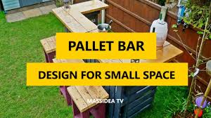 60 cool pallet bar design ideas for small space 2017 youtube