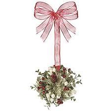 kurt adler mistletoe ornament home