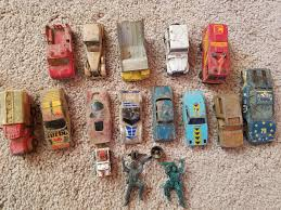 my dad found my old toy cars buried in the backyard