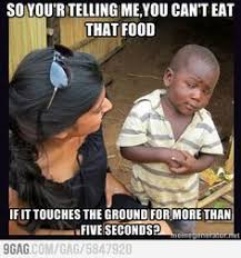 Skeptical African Kid Meme - so youre telling me kids cry because they dont want to eat third