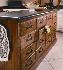 Repurposed Dresser Kitchen Island - old file cabinets repurposed into a kitchen island or use two back