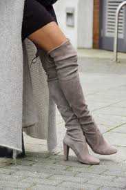 womens thigh high boots canada grey toe high chunky the knee boots knee boot