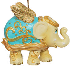 elephantparade christmas tree ornament angel home decor